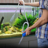Gravel Cleaner Aquarium Fish Tank Vacuum Water Changer