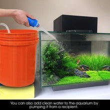 Load image into Gallery viewer, Gravel Cleaner Aquarium Fish Tank Vacuum Water Changer