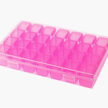 Load image into Gallery viewer, 64/59/28pcs Nail Art Box Organizer Storage Jewelry Case Makeup Beauty Tool Diamond Beads Organizer Plastic Container Case Box