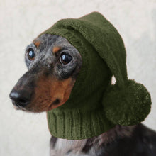 Load image into Gallery viewer, Hot Sale Winter Pets Hats Solid Color Cute Knitting Warm Cap with Hairball Neck Protected Thick Dog Hats Small Medium Large Dogs Suitable Hat Pet Supplies Accessories Plus Size