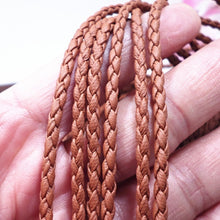 Load image into Gallery viewer, 5m Leather Weaving String rope Jewelry Making Thread Cords necklace bracelet DIY