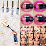 12 Color Matte Lipstick Long-lasting Non-stick Cup Liquid Waterproof Colorful Charm Lipstick Lip Gloss Rose Lipstick Makeup