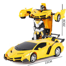 Load image into Gallery viewer, 1 18 Electric Remote Control Car1 Button Remote Control Deformable Vehicle Robot