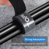 TOPK J01 Cable Organizer Wire Winder Earphone Holder Mouse Cord Protector HDMI Cable Management For iPhone Samsung Xiaomi