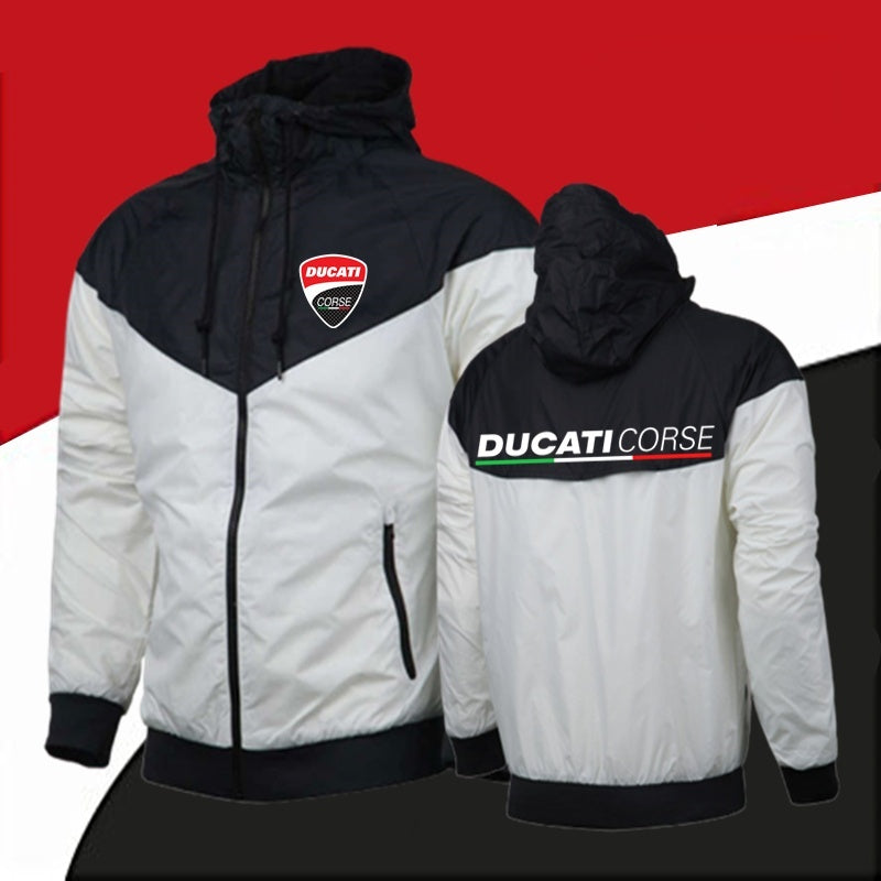 Autumn Spring Winter Fashion Men Bomber Jackets Ducati Corse Moto Gp Racing Jackets Casual Sport Sweatshirt