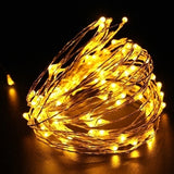 2m/3m/4m/5m/10m  LED String Lights for Xmas Garland Party Wedding Decoration Christmas Tree Flasher Fairy Lights