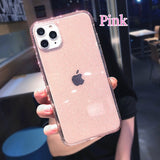 Fashion Girl Woman Style Glitter Soft Shell Cover Case for iPhone 11,iPhone 11 Pro,iPhone 11 Pro Max,iPhone 6 6S Plus, iPhone 7 8 Plus,iPhone X XS XR Max