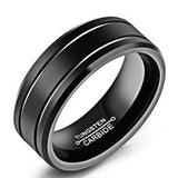 Hot Stainless Steel Ring Band Titanium Silver Black Gold Men Size 6 to 13 Wedding