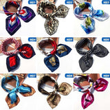 Women Lady Stylish Silk Square Scarf Bandana Neckerchief Head Neck Wrap Scarves