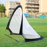 Protable Football Goal Net Foldable Soccer Shooting Training Equipment for Kids(with storage bag)