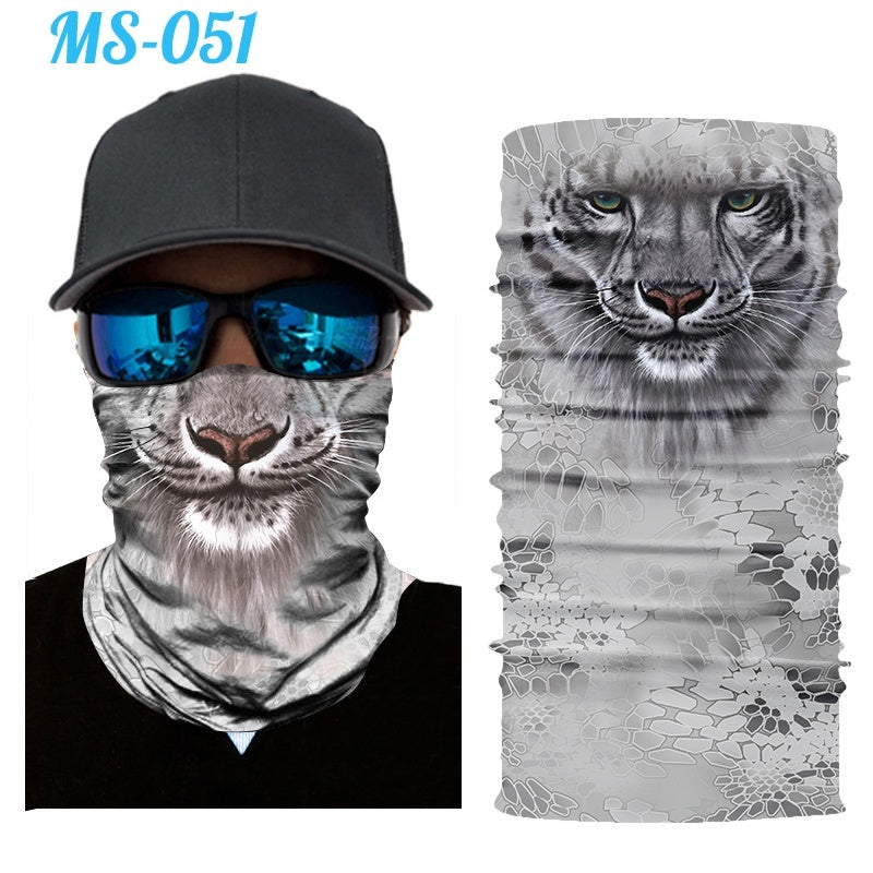 Cool Animal Mask Scarf Magic Headband Balaclavas for Cycling Fishing Ski Motorcycle