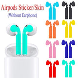 1 Pair Multi-colored Protector Skin Sticker For AirPod Wireless Earphone Protective Wraps Film Headset Paster