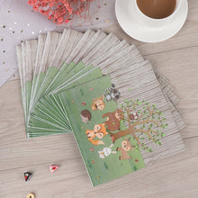 Load image into Gallery viewer, Baby Shower Woodland Party Decor Jungle Animal Cake Border Disposable Tableware