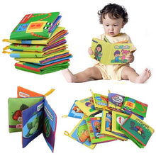 Load image into Gallery viewer, New Baby Early Learning Intelligence Development Cloth Cognize Fabric Book Educational Toys