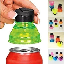 Load image into Gallery viewer, 3Pcs/2Pcs Can Convert Soda Savers Toppers Reusable Bottle Cap Drink Lids Opener Resealable Tops