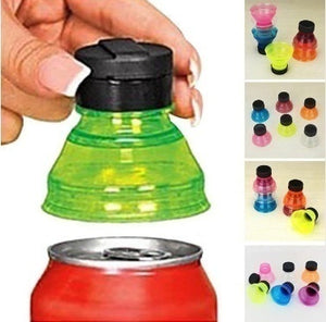 3Pcs/2Pcs Can Convert Soda Savers Toppers Reusable Bottle Cap Drink Lids Opener Resealable Tops