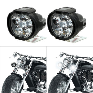 Super Bright LED Headlight Bulbs Motorcycle Fog Lights LED Bulbs Motorcycle Spotlights Motorcycle Parts With Switch