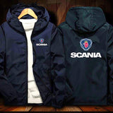 Scania Logo Jacket Windproof M1 Jacket Mobike Riding Hooded Suit Windbreaker Racing Suit