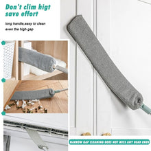 Load image into Gallery viewer, Retractable Dust Cleaner can be use at gap ,high place ,under Sofa Dust Removing Brush Furniture Cleaning Tool