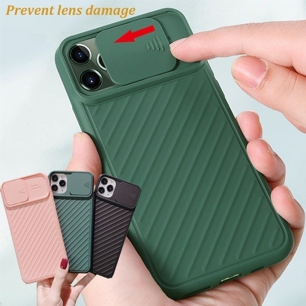 Creative Mobile Phone Camera for IPhone11 11Pro 11ProMax Can Push and Pull Goggles,All-inclusive Drop-resistant Soft Shell,Mobile Phone Case