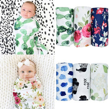 Load image into Gallery viewer, Fashion Newborn Infant Baby Boy Girl Sack Swaddle Sleeping Bag Swaddle Muslin Wrap