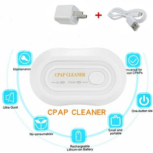 New CPAP BPAP Cleaner Disinfector Sanitizer Ozone Sterilizer Sleep Apnea Snoring New USB Automatic Cleaning 99% Sterilization