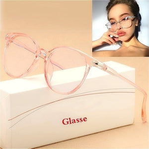 1PC Cat Eye Sunglasses Spectacle Optical Frame Glasses Clear Lens Vintage Anti-Radiation Eyeglasses for Women and Men Glasses Oculos De Grau Oculos