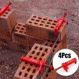 2/4pcs Wire Drawer Bricklaying Tools for Building Construction Fixture Fixer
