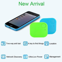 Load image into Gallery viewer, 8Color 1 Piece Mini Car GPS Tracker Kids Pets Wallet Keys Alarm Locator Realtime Finder Tracker 2020