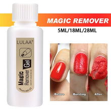 Load image into Gallery viewer, 5ML/18ML/28MLNail Polish Remover Soak Off Magic Remover Cleaner Nail Uv Gel Nails Wipes Nail Remover