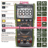 The  newest2  BD-168A/BD-168B  with temperature function Multimeter 6000 Count DC AC Voltage Current Capacitance Resistance Temperature NCV True RMS Mini Tester