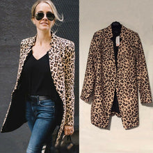 Load image into Gallery viewer, Women Laides Blazer Open Front Coat Ladies OL Office Suit Cardigan Jacket Outwear