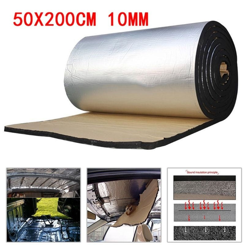 Car Sound Deadener Mat Noise Bonnet Insulation Deadening for Hood Engine Sticker YHD