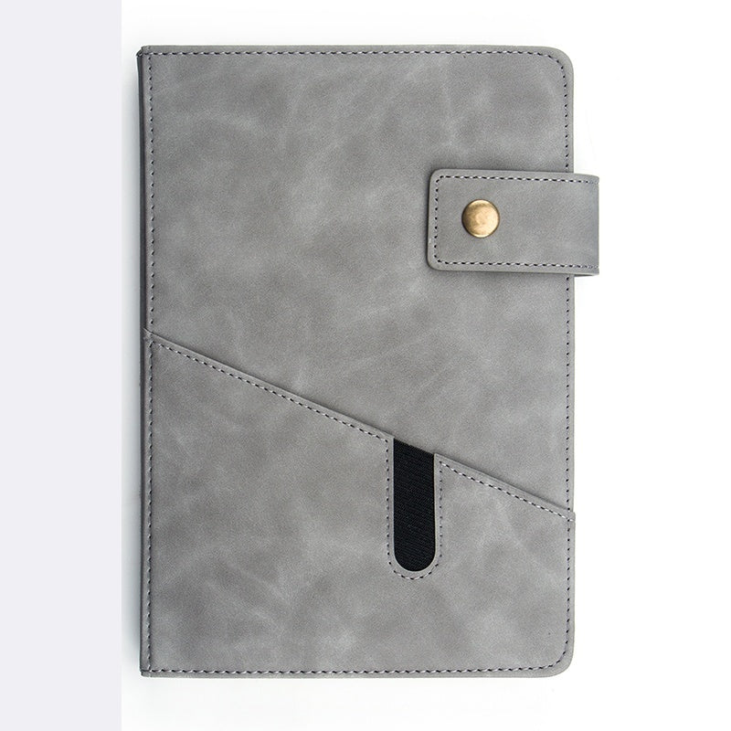Buckle PU Softcover Notebook 2020 A5 Daily Planner Business Agenda Paper Personal Schedule Notebook Diary School Office Stationery