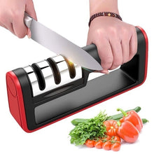 Load image into Gallery viewer, KNIFE SHARPENER Professional Ceramic Tungsten Kitchen Sharpening System Tool