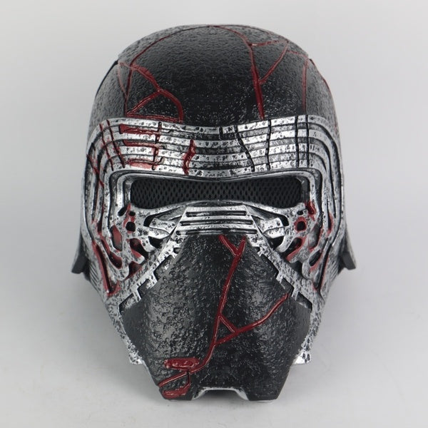 New Kylo Ren Helmet Cosplay The Rise of Skywalker Mask Props PVC Helmets Masks Halloween Party Prop