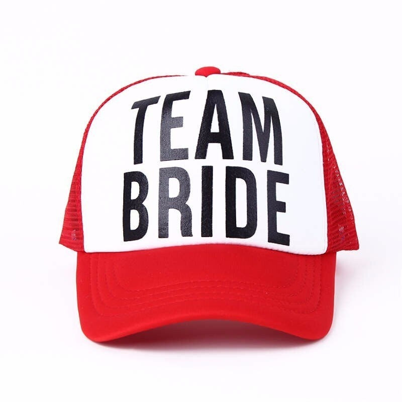 Fashion wedding party baseball hat party BRIDE hat summer Snapback hat men and women hat outdoor beach hat transport sun hat DIY fashion cotton hat