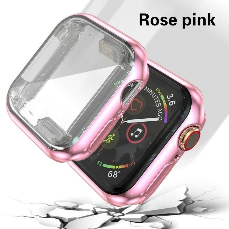 Screen Protector Soft Bag  Apple Watch Series 5/4/3/2/1 Thin TPU Watch Case Cover for Apple Watch  44mm 42mm 40mm 38mm Cover