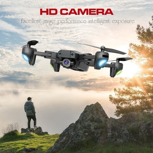 2020 Newest Upgrade Remote Control Drone HJ68 Pro Quadcopter UAV with 1080P/4K HD FPV 120¡ã Wide-angle Camera + Optical Flow Positioning + V-Sign + Gesture Video + Real-time Transmission + Long-term Flight + Gravity Sensing