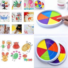 Load image into Gallery viewer, Hot Sales Children Kids DIY Fingerprint Painting Mud Pigment Graffiti Toy Colorful Inkpad.