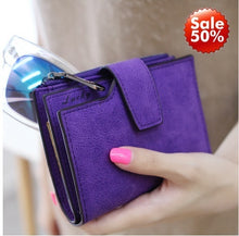 Load image into Gallery viewer, Women Leather Clutch Handbag Bag Coin Purse