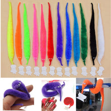 Load image into Gallery viewer, 1/6/12PCS Magic Worm Toys,Wiggly Fuzzy Carnival Party Favors, Magic toys Caterpillar