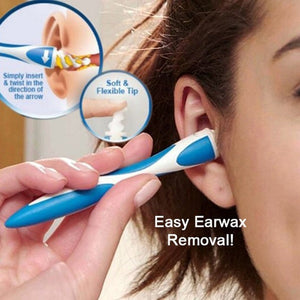 Digging Ear Spoon, Ear Absorber, Ear Absorbing Device Spiral Ear Detector