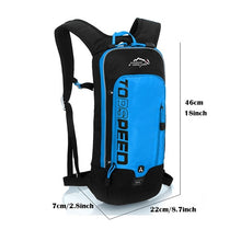 Load image into Gallery viewer, Waterproof Bicycle Backpack,Men's Women MTB Bike Water Backpack,Rainproof Cycling Hiking Camping Hydration Backpack for bike