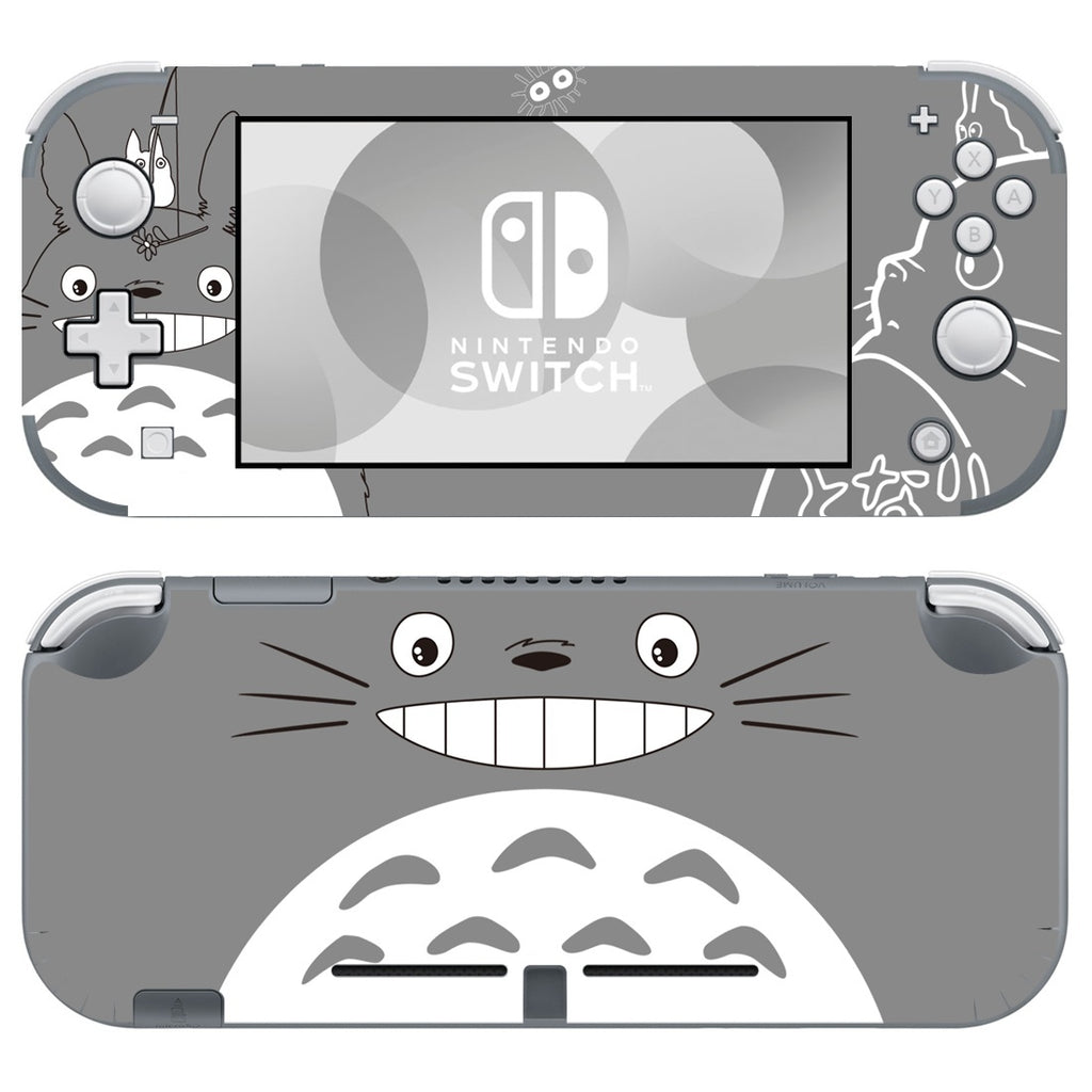 Nintendo Switch Lite Console Vinyl Skins Decals Sticker Covers Wrap Anime Cute Totoro