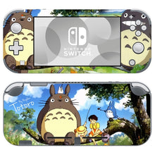 Load image into Gallery viewer, Nintendo Switch Lite Console Vinyl Skins Decals Sticker Covers Wrap Anime Cute Totoro