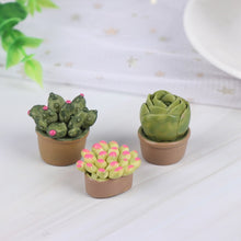 Load image into Gallery viewer, 18/12/2Pcs 1:12 Miniature Green Plants Decoration Dollhouse Furniture Accessories