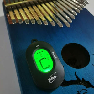 ET01K Kalimba Tuner 12 Equal Temperament Auto-tune Mode for Thumb Piano Mbira Turning Adaptor