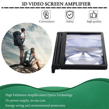 Load image into Gallery viewer, Mobile Phone Screen Magnifier Eyes Protection 3D Video Screen Amplifier