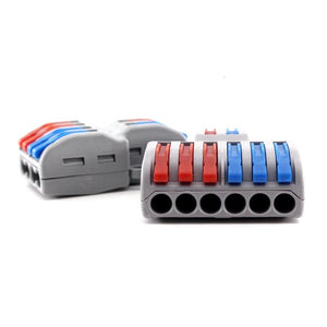 2/10/15pcs Fast Wire Connector Universal Wiring Cable Connector Conductor Terminal Block